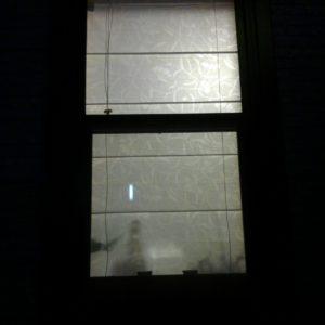 外から見えない・夜