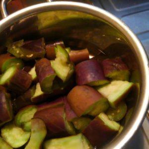 油を使わないナスの煮物 レシピ