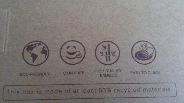 エコ 環境にも優しい素材
