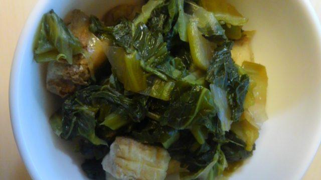高菜の煮物