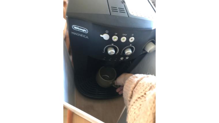 コーヒーメーカー 飛び散り防止